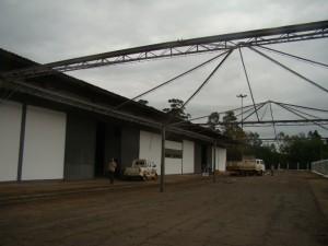 Pirâmides serão cobertas e serão ocupadas por expositores da área externa