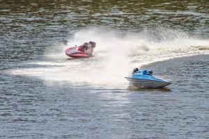 Competidores aceleraram nas águas do Rio Taquari
