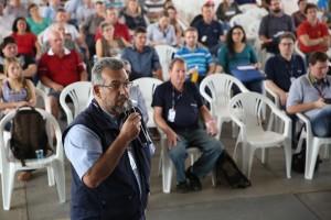 Zootecnista assistente técnico estadual em bovinocultura de leite da Emater-RS/Ascar, Jaime Ries, apresentou Relatório Socioeconômico da Cadeia Produtiva do Leite no RS
